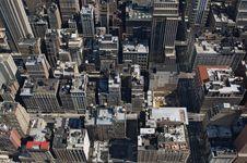 Free Manhattan Rooftops Stock Image - 10314281