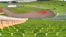 Free Panoramic View Of An Empty Stadium. Stock Photos - 10315703