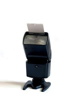 Black Flash Lamp Royalty Free Stock Photography