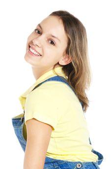 Free Laughing Teenage Girl Stock Photos - 10316103