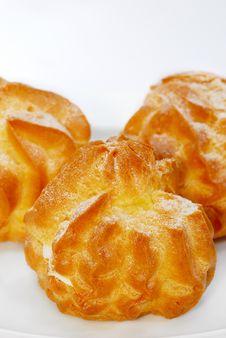 Cream Puff Series 02 Stock Images