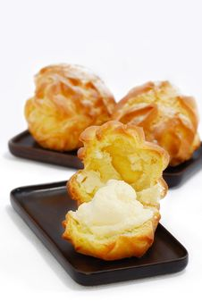 Free Cream Puff Series 03 Stock Photography - 10317622