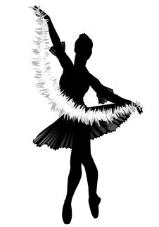 Free The Ballerina With A Garland Royalty Free Stock Photography - 10317757