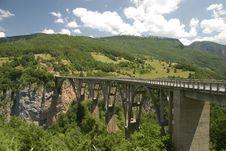 Arch Bridge, Montenegro Royalty Free Stock Photo