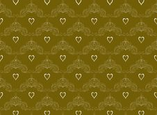 Free Gold Pattern Stock Image - 10318171