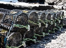 Free The Lobster Pots Stock Photos - 10318643