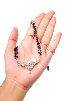 Free Diamond Pendant Jewellery Stock Photography - 10318972