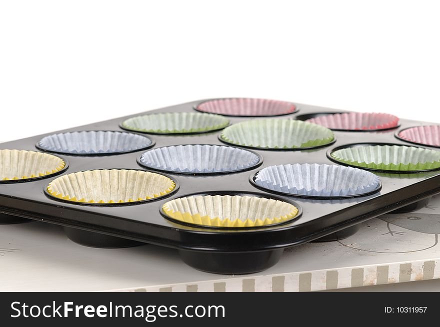 Prepering cup-cakes