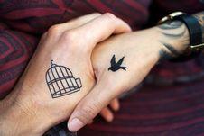 Free Finger, Hand, Tattoo, Temporary Tattoo Stock Photo - 103145190
