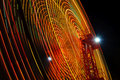 Free Ferris Wheel At Night Stock Image - 10326901