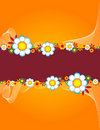 Free Floral Background With Place For Text Stock Photo - 10329330