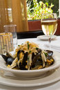 Free Bowl Of Steamed Mussels Stock Photos - 10329683