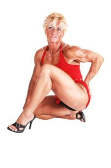 Free Bodybuilding Woman. Royalty Free Stock Images - 10321299