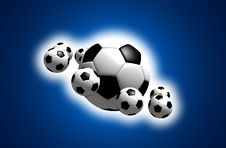 Free Soccer Balls Royalty Free Stock Images - 10321699