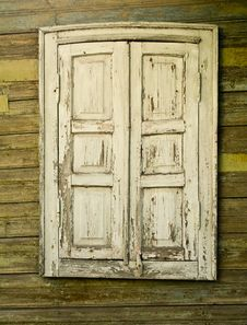 Free Window With The Closed Shutters Stock Photography - 10323592