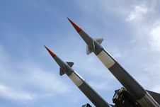 Free Two Missiles Stock Photos - 10325373
