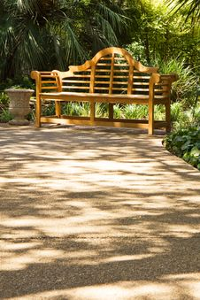 Free Bench At The Alamo Stock Images - 10325544