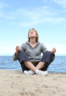 Free Yoga Royalty Free Stock Images - 10325899