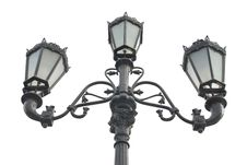 Old Lamppost Royalty Free Stock Photos