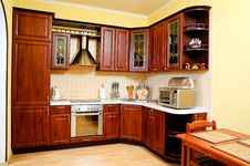 Free Kitchen Interior Royalty Free Stock Image - 10326726