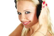 Free Girl Listening Music Royalty Free Stock Image - 10328206