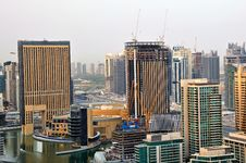 Highrise Buildings In The Marina Stock Image