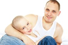 Free Father And Son Royalty Free Stock Photo - 10328935