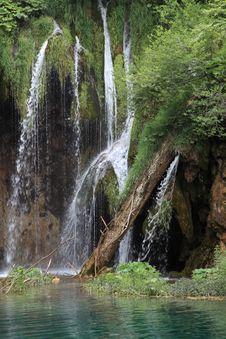 Free Waterfalls @ Plitvicka Jezera Royalty Free Stock Image - 10329666