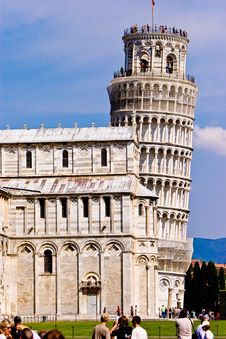 Free Leaning Tower Of Pisa Italy Royalty Free Stock Photos - 10329948