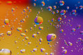 Free Coloured Drops Of Water Royalty Free Stock Photo - 10333325