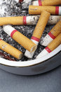 Free Cigarette Butts In Ashtray Royalty Free Stock Image - 10334156