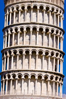 Free Leaning Tower Of Pisa Italy Stock Image - 10330111