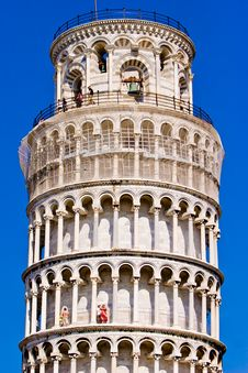 Free Leaning Tower Of Pisa Italy Stock Image - 10330261