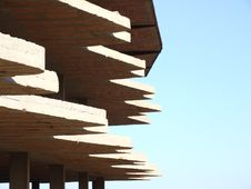 Free Abstract Building And Blue Sky Royalty Free Stock Image - 10331236