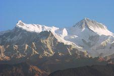 Annapurna Glory Stock Image