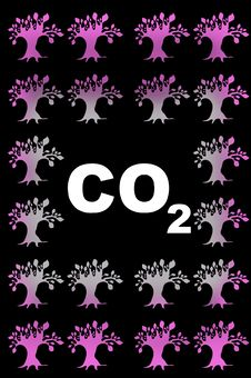 Free Abstract CO2 Illustration Stock Photo - 10331810