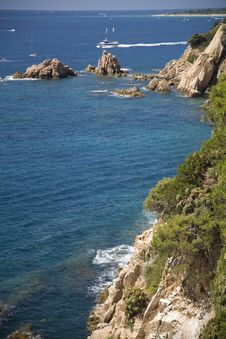 Mediterranean Cove Royalty Free Stock Photos