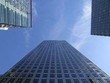 Free Skyscrapers And Blue Sky Stock Image - 10332031