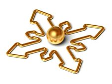 Free Navigation Arrows Stock Image - 10332231