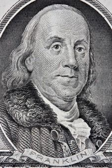 Free Portrait Of Benjamin Franklin Stock Images - 10332484