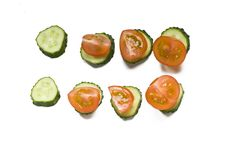 Free Healty Vegetable Snackes Royalty Free Stock Photography - 10332497