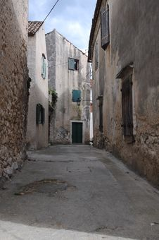 Free Old Lane Royalty Free Stock Image - 10332896