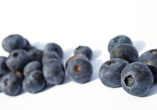 Free Bunch Of Blueberries Royalty Free Stock Images - 10334149