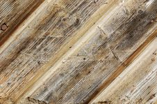 Rough Wooden Fence Texture Stock Photo