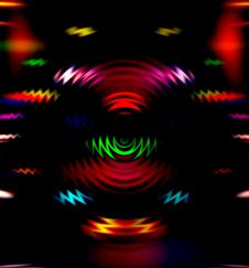Free Colorful Disco Lights Stock Photo - 10334470