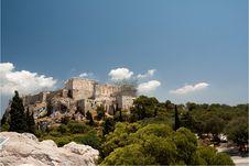 Free Acropolis Panorama Royalty Free Stock Image - 10334616
