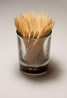 Free Toothpicks Close-up Stock Photo - 10334860