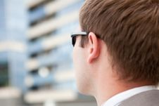 Free Businessman With Sunglasses Stock Image - 10335781
