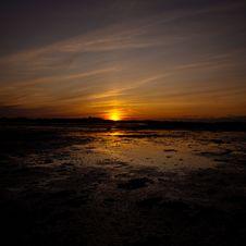 Free Golden Sunset Of Charlottetown At PEI Royalty Free Stock Photo - 10336135