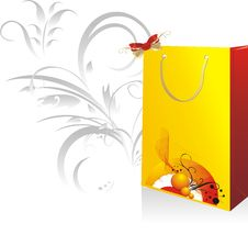 Free Packing For A Gift Stock Photo - 10337840